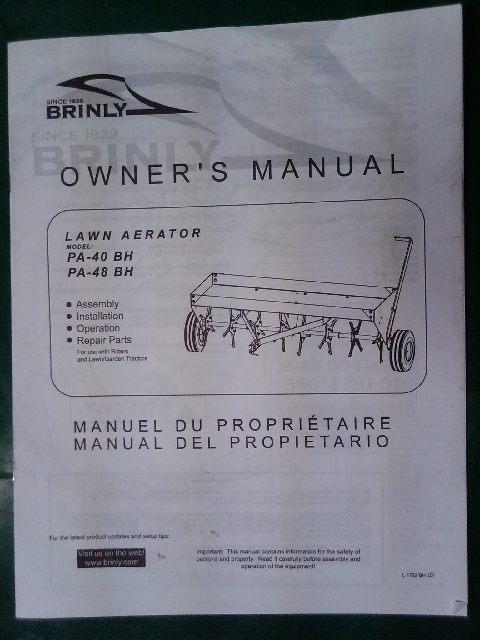 Kubota B7300 Owners Manual Free