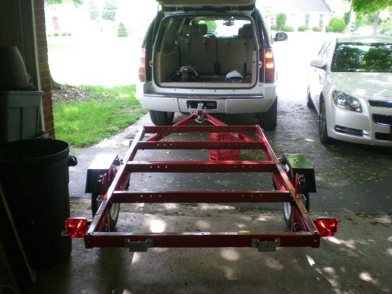 Folding 4x8 Flatbed Assembly  Pics