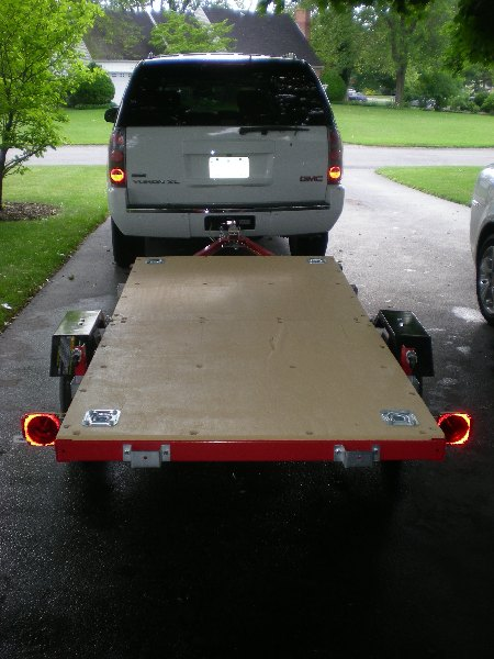 80 attached folding 4x8 flatbed assembly [pics] mytractorforum com the